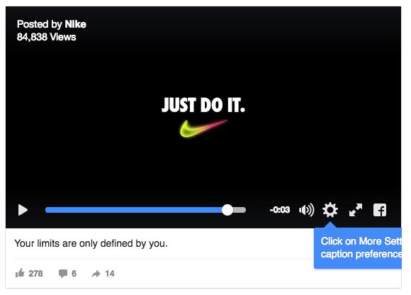 найке реклама в соц сетях видео
